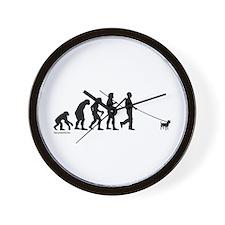 Chihuahua Evolution Wall Clock
