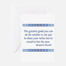 Disraeli Greeting Cards (Pk of 10)
