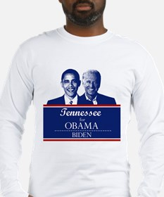 Tennessee for Obama Long Sleeve T-Shirt