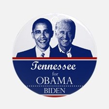 Tennessee for Obama Ornament (Round)