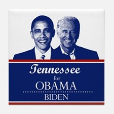 Tennessee for Obama Tile Coaster