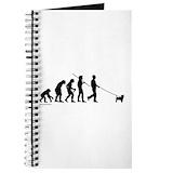 Dog evolution Journals & Spiral Notebooks