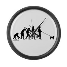 Cairn Evolution Large Wall Clock