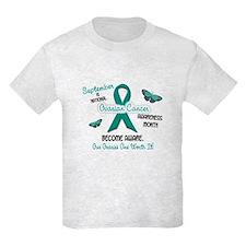 Ovarian Cancer Awareness Month 2.3 T-Shirt