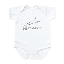 XF-92 / F-92 Dart Infant Bodysuit