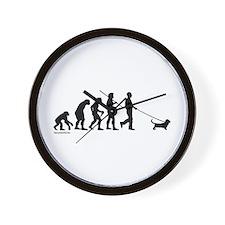 Basset Evolution Wall Clock