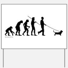 Basset Evolution Yard Sign