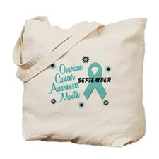 Ovarian Cancer Awareness Month 1.1 Tote Bag