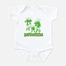 Let's Bounce Grasshoppers Infant Bodysuit