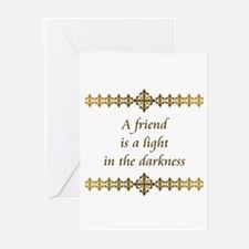 Friend Is A Light Greeting Cards (Pk of 10)