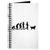 Dog evolution Journals & Spiral Notebooks