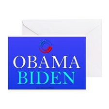 """Obama/Biden"" Greeting Cards (Pk of 10)"