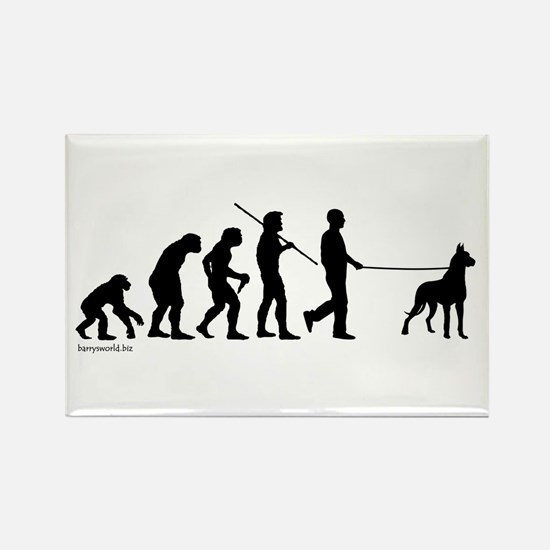 Great Dane Evolution Rectangle Magnet (10 pack)