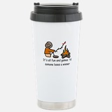 Someone Loses a Wiener Stainless Steel Travel Mug