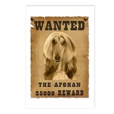 """""""Wanted"""" Afghan Postcards (Package of 8)"""