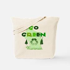 Go Green Wisconsin Reusable Tote Bag