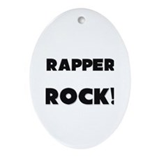 Trappers ROCK Oval Ornament