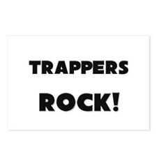 Trappers ROCK Postcards (Package of 8)