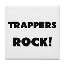 Trappers ROCK Tile Coaster