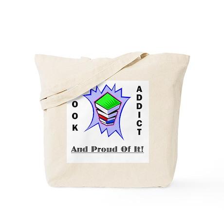 Book Addict Tote Bag - Design1