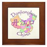 Danjiangkou China Framed Tile