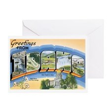 Idaho ID Greeting Card