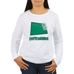 Let's Bounce Dice (Die) Women's Long Sleeve T-Shir