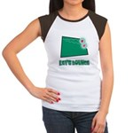 Let's Bounce Dice (Die) Women's Cap Sleeve T-Shirt