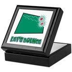 Let's Bounce Dice (Die) Keepsake Box