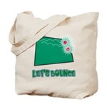Let's Bounce Dice (Die) Tote Bag