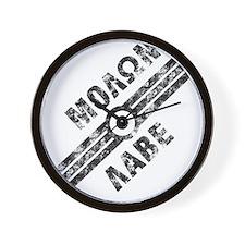 MOLON LABE! Wall Clock