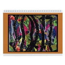 Cute Illusional art Wall Calendar