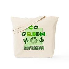 Go Green New Mexico Reusable Tote Bag