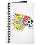 Indian Chief Skull Tattoo Journal