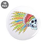 Indian Chief Skull Tattoo 3.5