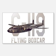 C-119 Flying Boxcar Rectangle Decal