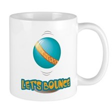 Let's Bounce Bouncing Ball Mug