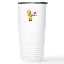 I Love Alpacas Travel Mug