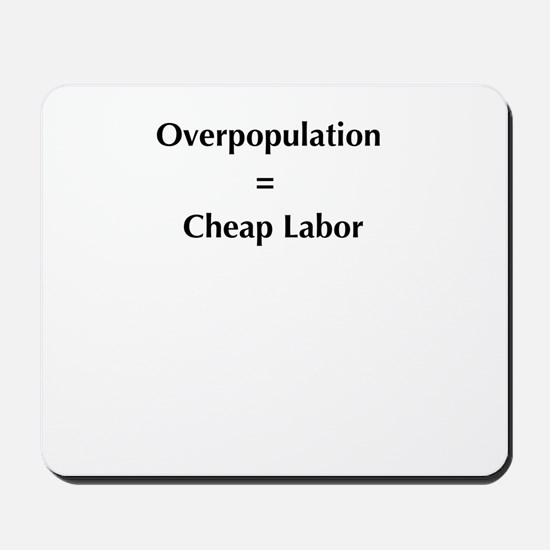 overpopulation Mousepad