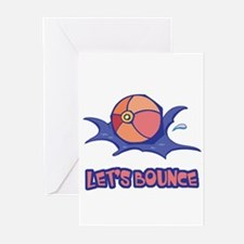 Let's Bounce Beach Ball Greeting Cards (Pk of 20)