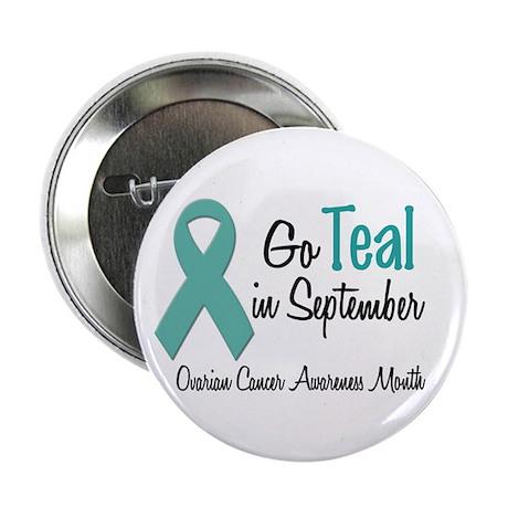 """Ovarian Cancer Awareness Month 1.2 2.25"""" Button"""
