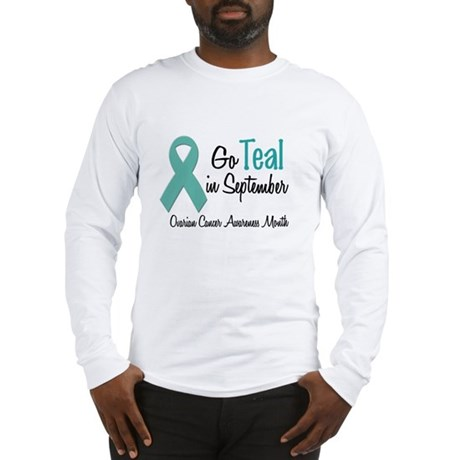 Ovarian Cancer Awareness Month 1.2 Long Sleeve T-S