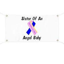 Sister Of An Angel Baby - Rib Banner
