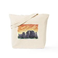 Stonehenge Sunrise Tote Bag