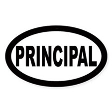 Principal Oval Decal
