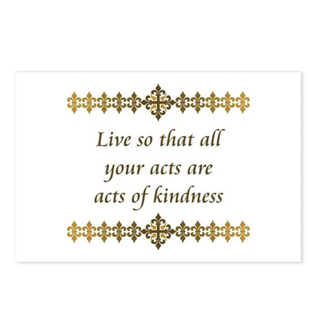 Acts Of Kindness Postcards (Package of 8)