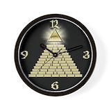 Pyramid Wall Clocks