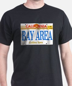BAY AREA -- LINCENSE PLATE T-Shirt