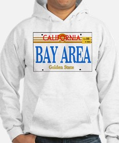 BAY AREA -- LINCENSE PLATE Hoodie
