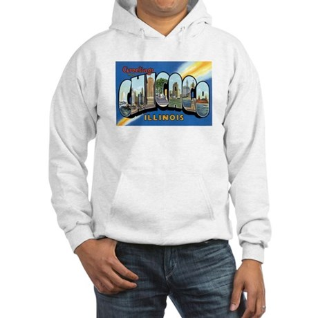 Chicago Illinois IL Hooded Sweatshirt